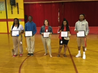 August Teacher and Students of the Month